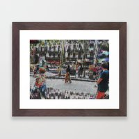A balance between we and they but the as yet I, 12 Framed Art Print