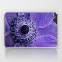 Purple Anemone Laptop & iPad Skin