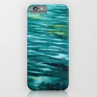 Turquoise  iPhone & iPod Case