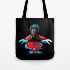 Dark Steel Inside Tote Bag