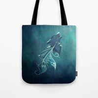 Wolfeather Tote Bag