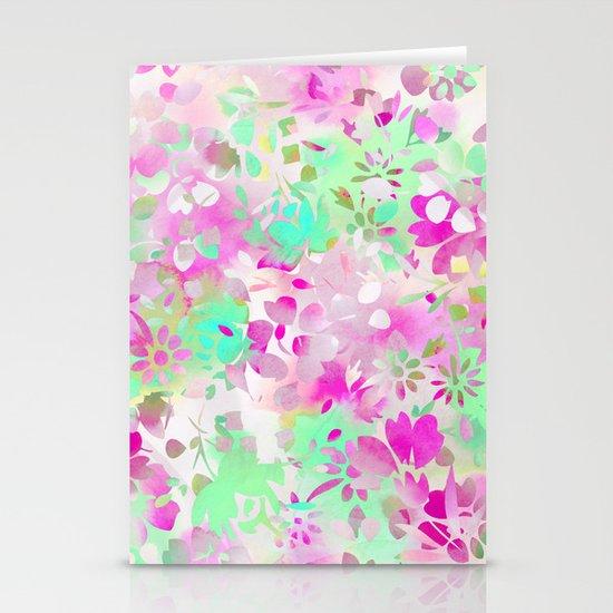 Floral Spirit 4 Stationery Card