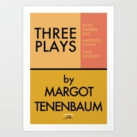 Three Plays By Margot Te… Art Print