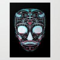 Sweets and Skulls Art Print