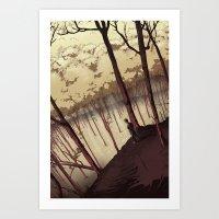 Our Stillness Art Print