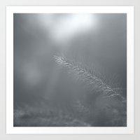 Grass for my beloved Anna Art Print