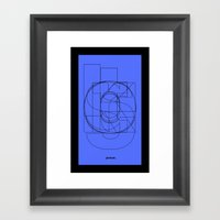 Die Neue Haas Grotesk (C… Framed Art Print