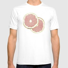 grapefruit Mens Fitted Tee SMALL White