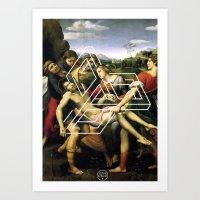 Raphael tri Art Print