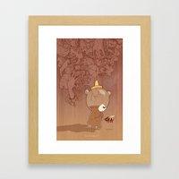 Honeyrama Framed Art Print
