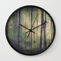 In the woods of Mournton Combs Wall Clock