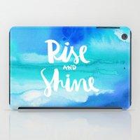 Rise & Shine [Collaboration with Jacqueline Maldonado] iPad Case