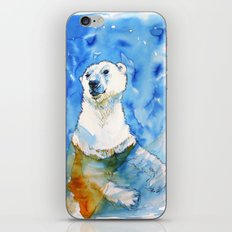 Polar Bear Inside Water iPhone & iPod Skin