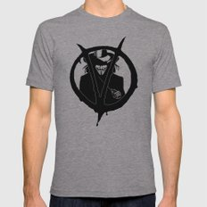V for Vendetta3 Mens Fitted Tee Athletic Grey SMALL