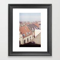 Shadow Man - Rasmus Verd… Framed Art Print