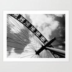 London - The Eye Art Print