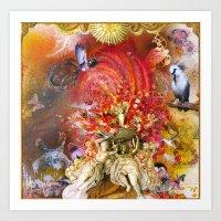 Cupid's Triumph Art Print