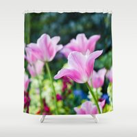 Flowers alive Shower Curtain