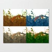Varations of Leaves Canvas Print