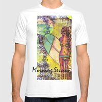 Morning Session Mens Fitted Tee White SMALL