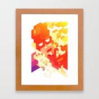 Geometric Hero 3 Framed Art Print