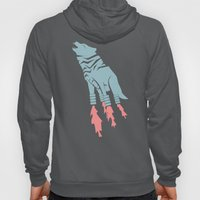 Robot Wolf-Tiger from Outer Space Hoody
