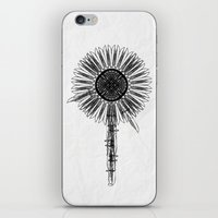 Flower Knife iPhone & iPod Skin