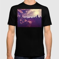 Arizona Canyon Sunshine Mens Fitted Tee Black SMALL