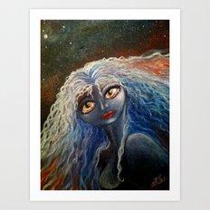 The Star Angel Art Print