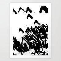 Burn 2 Art Print