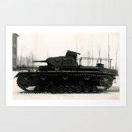 German Tank Panzer IV 19… Art Print