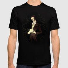 Nikola Tesla Mens Fitted Tee Black SMALL