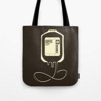 Coffee Transfusion Tote Bag