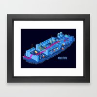 Zaxxon Framed Art Print