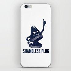 Shameless Plug iPhone & iPod Skin
