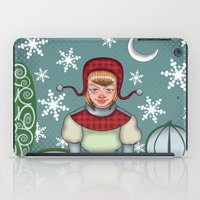peaceful snow  iPad Case