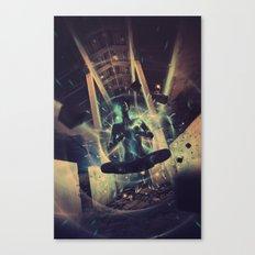 Power Trip Canvas Print