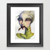If I Were A Bug Framed Art Print