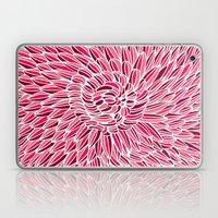Fuchsia Chrysanthemum Laptop & iPad Skin