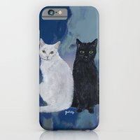 iPhone & iPod Case featuring Kingston and Midnight by gretzky