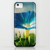 iPhone 5c Cases featuring Hello Morning Glory by Olivia Joy StClaire