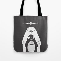 Penguinception Tote Bag
