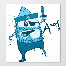 Bluebeard Canvas Print