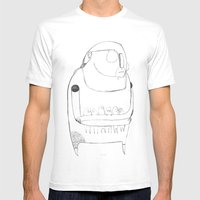 Gentle Giant Mens Fitted Tee White SMALL