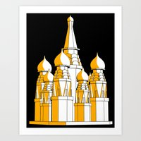 (Saint Basil's) Cathedral Art Print
