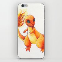 Little Charming Salamander iPhone & iPod Skin