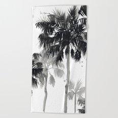 Paradis Noir III Beach Towel