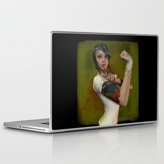 Shear Power Laptop & iPad Skin