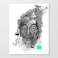 Dalí Canvas Print