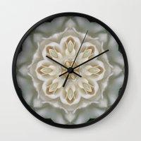 Inner Gardenia Glow Wall Clock